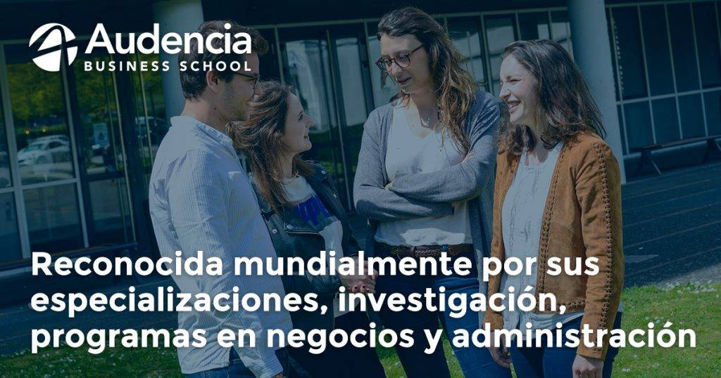 AUDENCIA Business School y Beca Desafíos