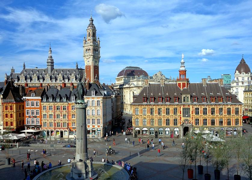Estudia negocios en Lille, Francia