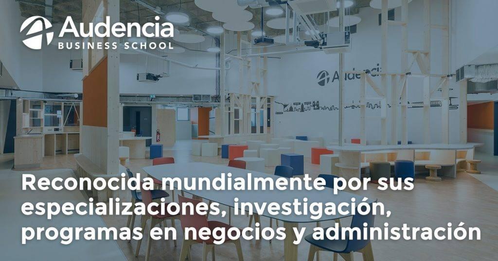 AUDENCIA Business School y Beca Desafíos