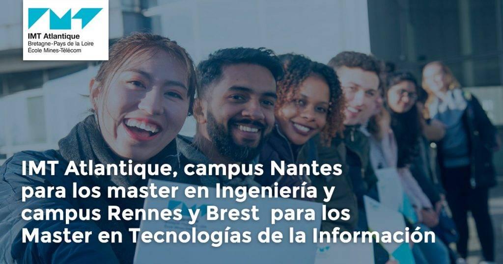Estudia Maestría en tecnología de la información en Nantes, Francia